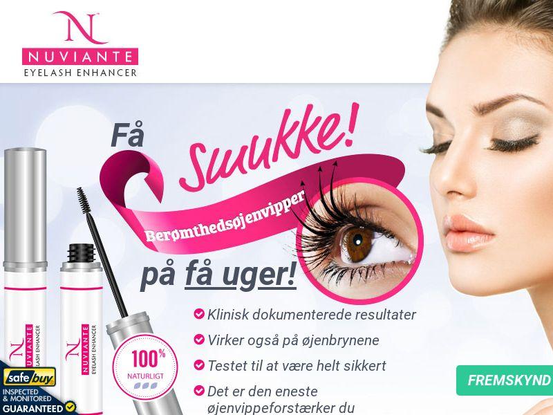 Nuviante: Eyelash Enhancer - DANISH - (Hair)