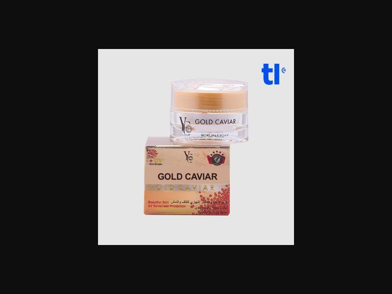Gold Caviar Cream - beauty - CPA - COD - Nutra