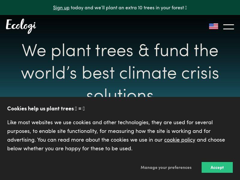 Ecologi - UK (GB), [CPS]