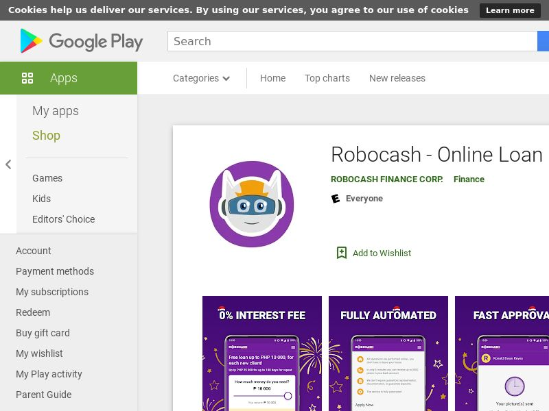 Robocash - Android - PH (CPA)