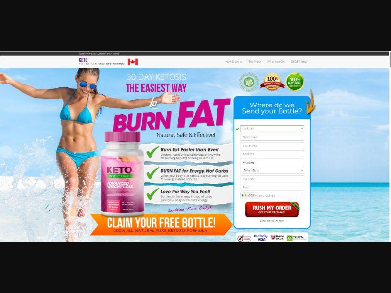 Keto BodyTone - Diet & Weight Loss - SS - NO SEO - [IE]