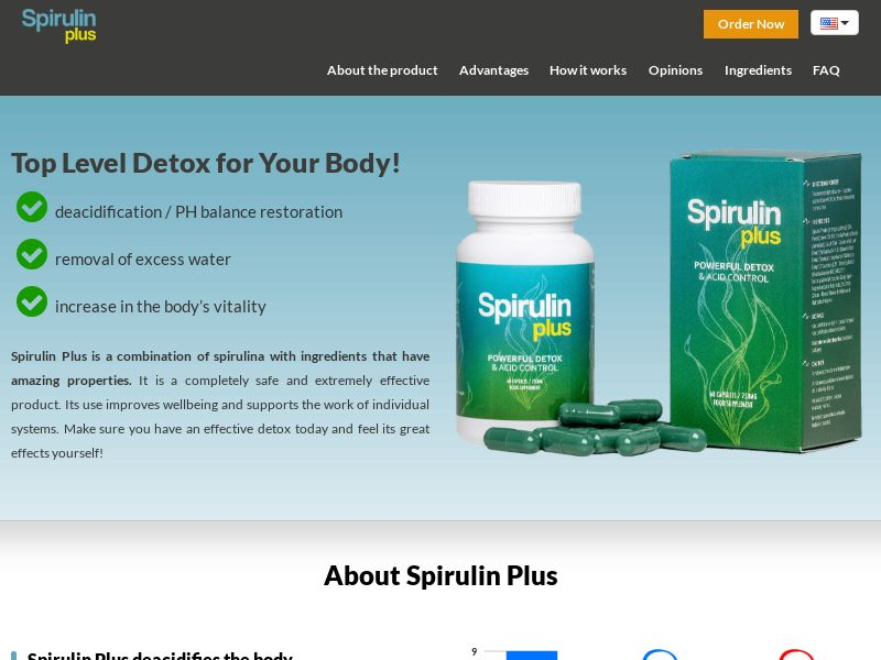 Spirulin Plus - SS - [GB]