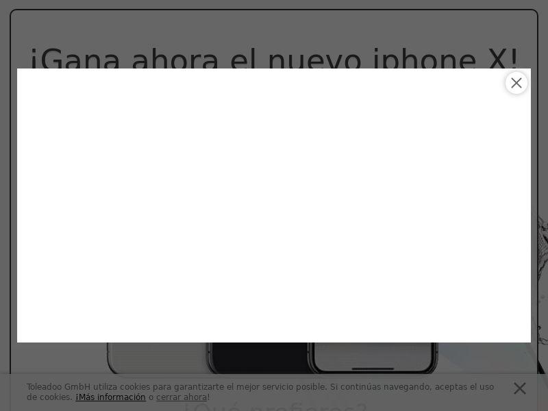 Gana El nNuevo iPhone X! - INCENT - ES