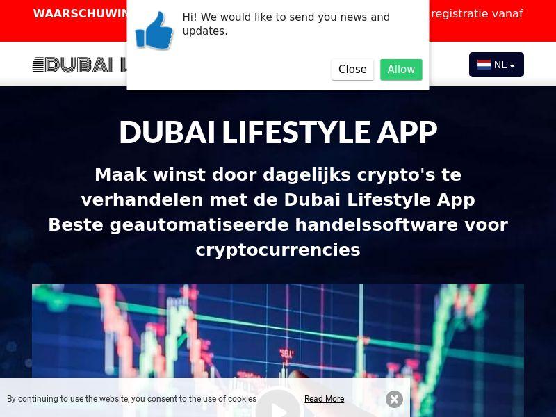 Dubai Lifestyle App Dutch 2236