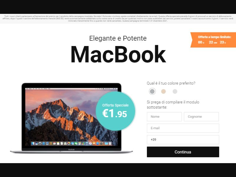 IT - Win MacBook [IT] - CC Submit