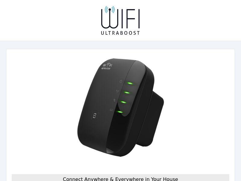 WIFI UltraBoost - eCommerce - WW