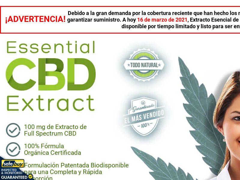 Essential CBD Extract (Spanish) - MX/CO/AR/CL/PE