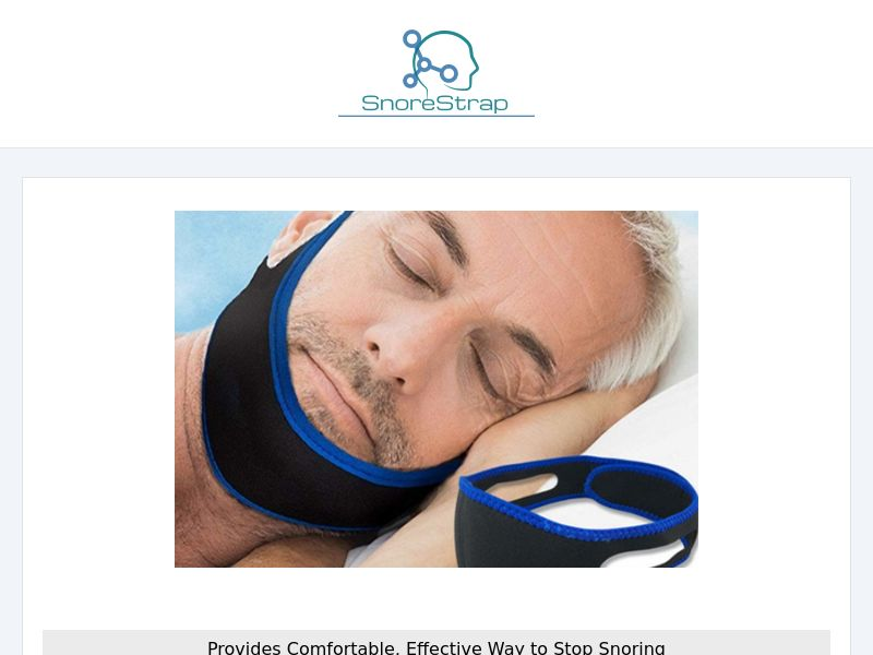 Snore Strap INTL - All Languages