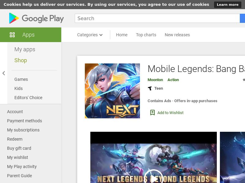 mobile legends (android, MY)