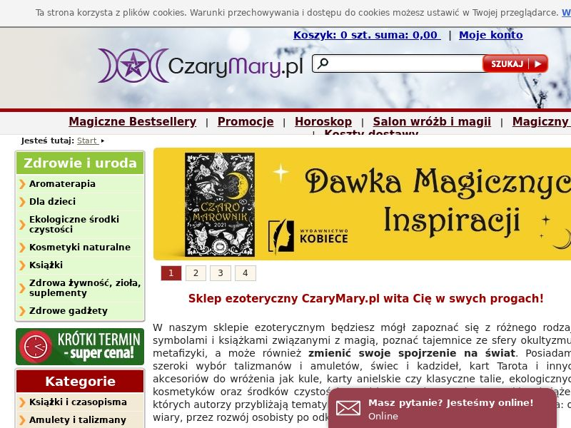 CzaryMary - PL (PL), [CPS], Knowledge, Tutorials, Services, Esoteric, Sport & Hobby, Sell, guide