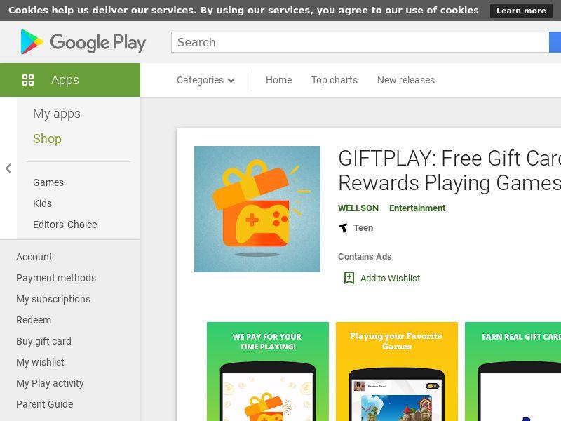 GIFTPLAY Android - US