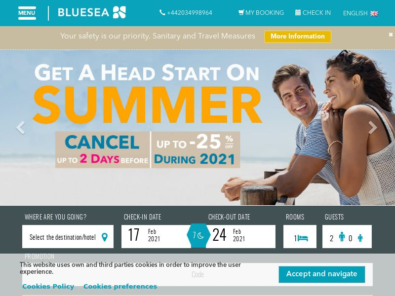 Blue Sea Hotels - ES (ES), [CPS], Transport and Travel, Accommodation, Sell, holiday