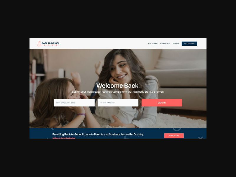 Back to School Lend - Personal Loans (US)