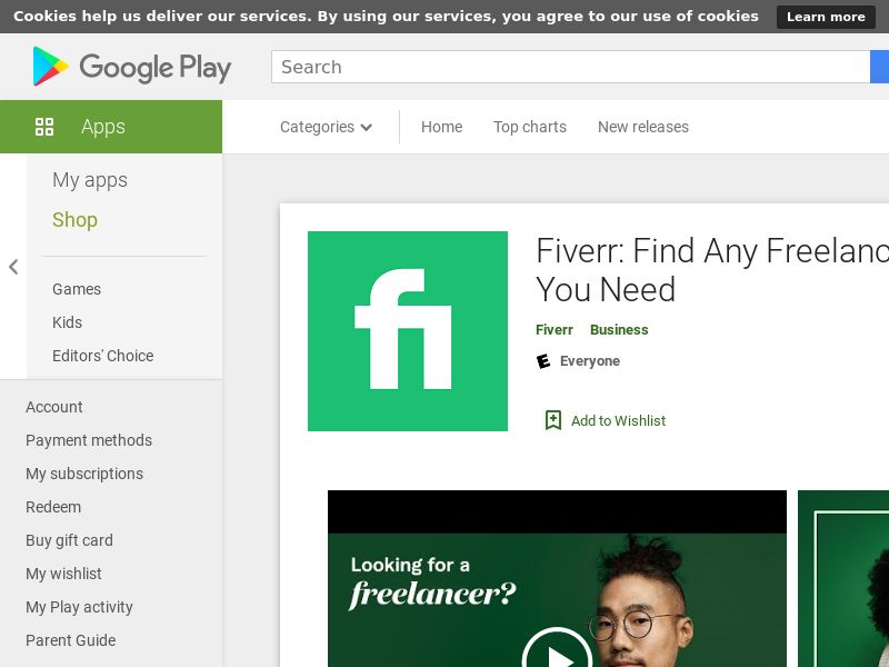 Fiverr [Android] *Tier 3*