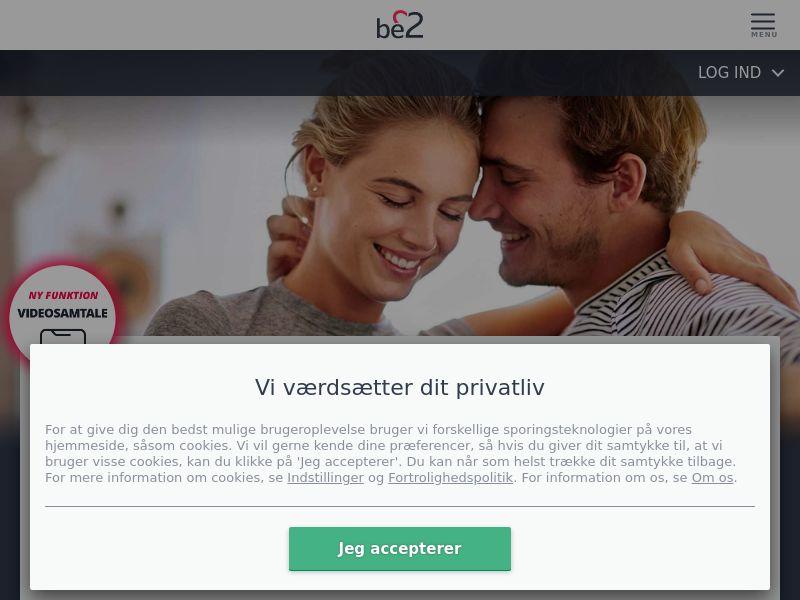 Dating - Be2 (DK) - DESKTOP