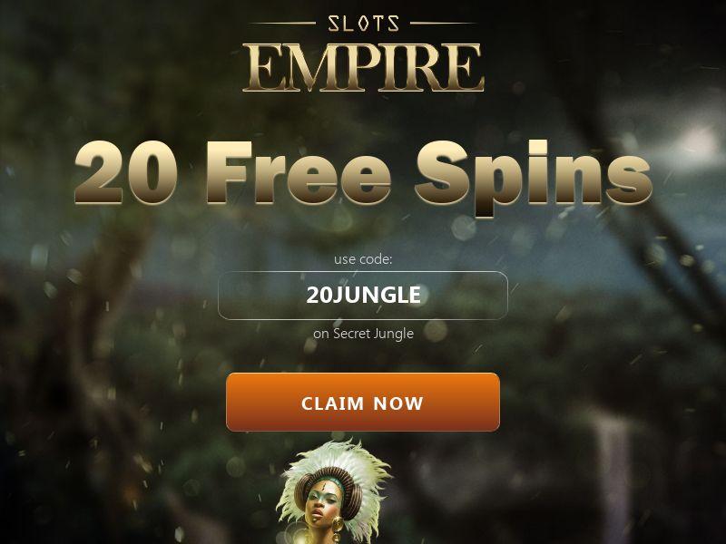 Slots Empire 20 FS Secret Jungle - CA, US, AU