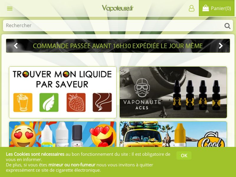 Vapoteuse - FR (FR), [CPS], Services, Online, Sell