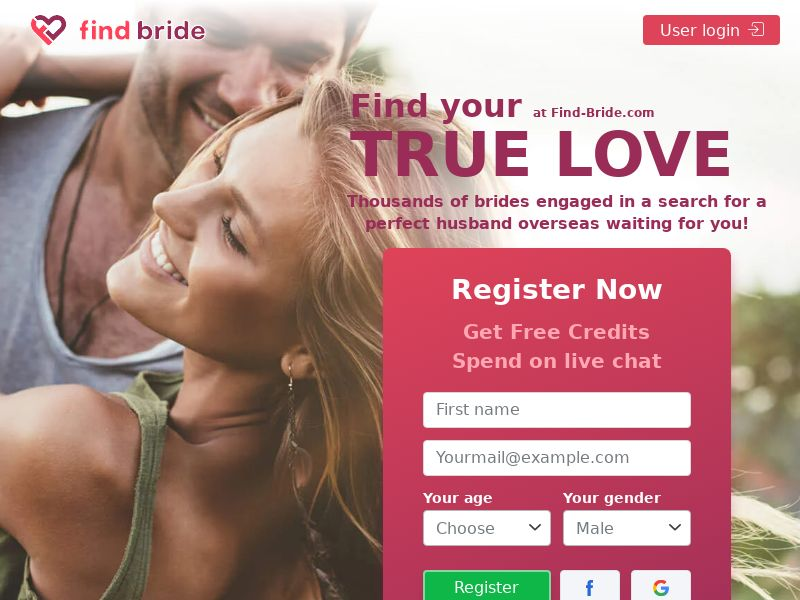 US - Find Bride | Mobile | Desktop | All OS