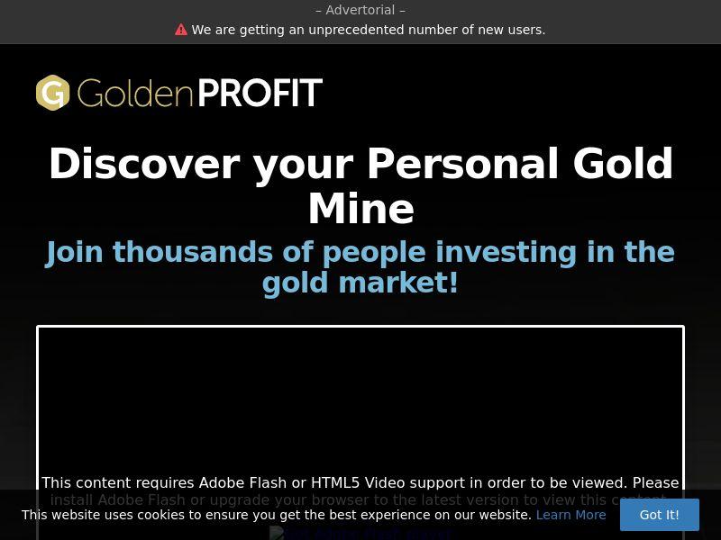 Golden Profit (MY) (CPS)