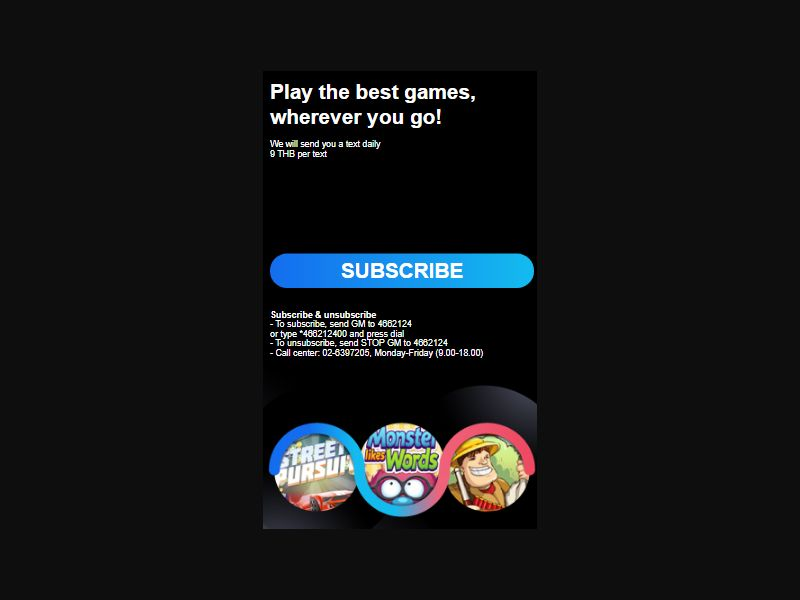 TH - Games&Videos (DTAC only) [TH] - 2 click