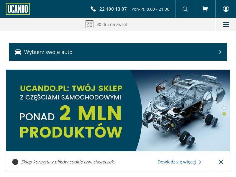 Ucando - PL (PL), [CPS], Motoring, Car parts, Car accessories, Sell, moto