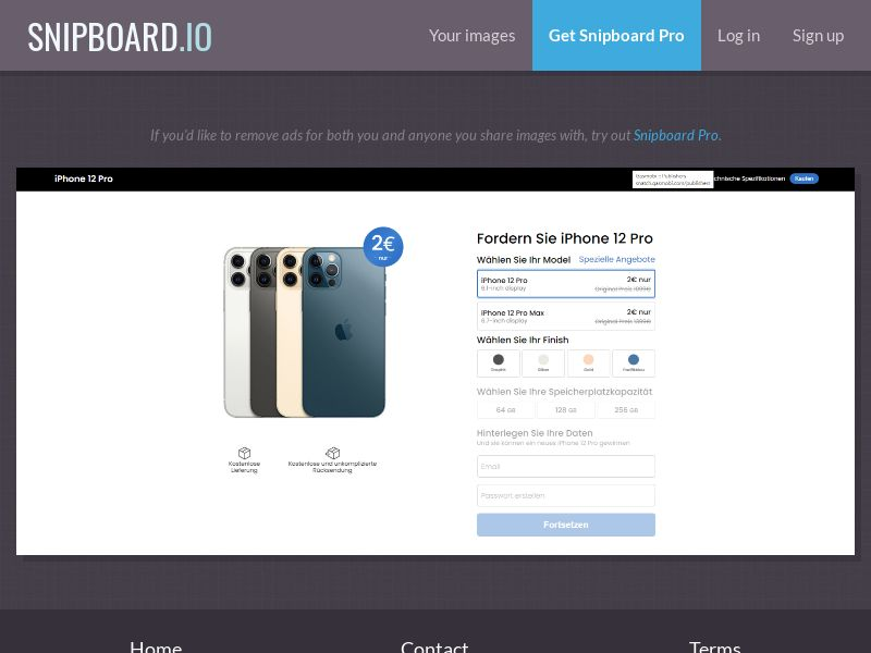39739 - US - SmartTest - Win an iPhone 12 Color Choose White - CC submit