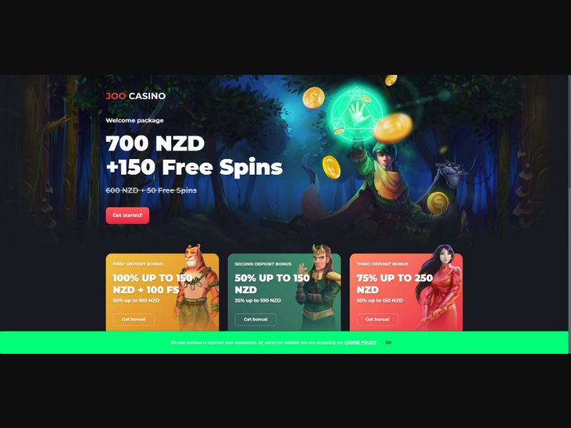Joo Casino - V1 - Casino - SS - NO SEO - [NZ]