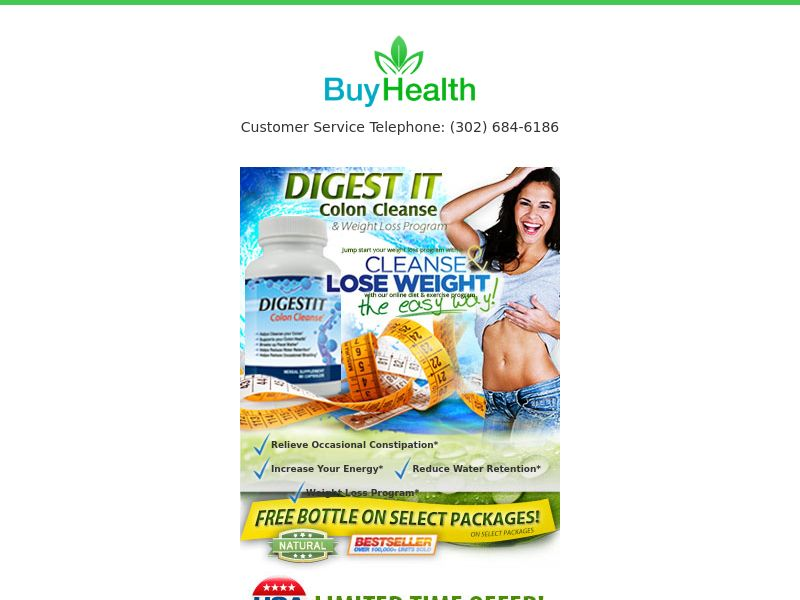 Digestit Colon Cleanse CPA CO