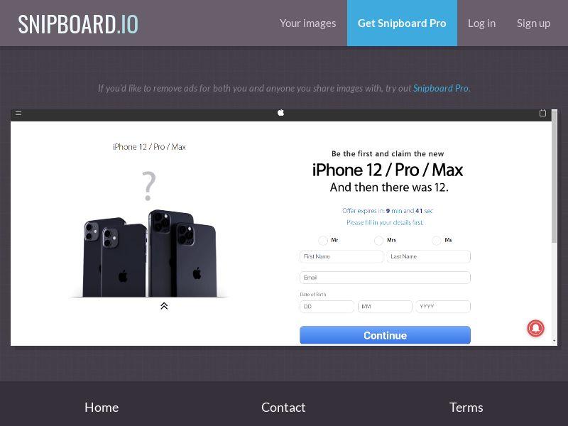 38176 - NZ - Quiztionnaire - iPhone 12 (With Prelander) - SOI