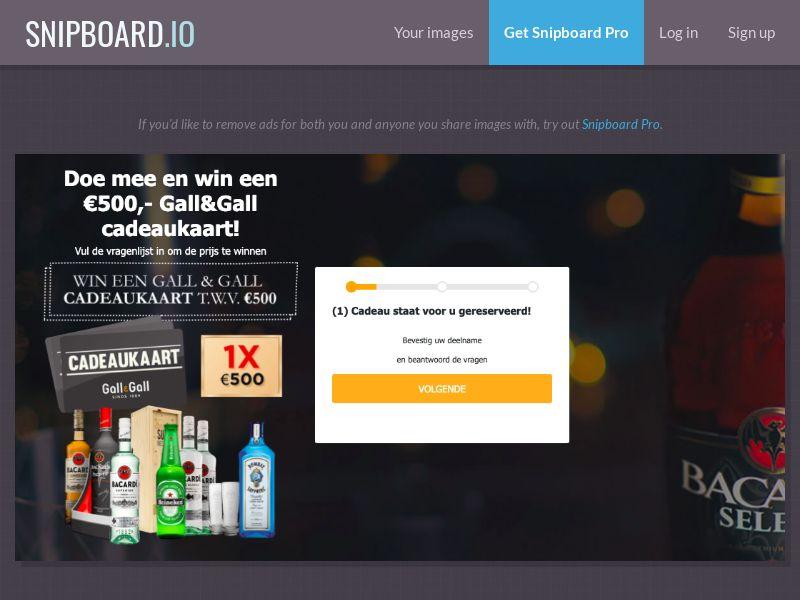 37506 - NL - WinAds - Gall&Gall Liquorstore - SOI