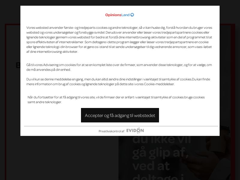 Opinion World Denmark - CP1F | DK