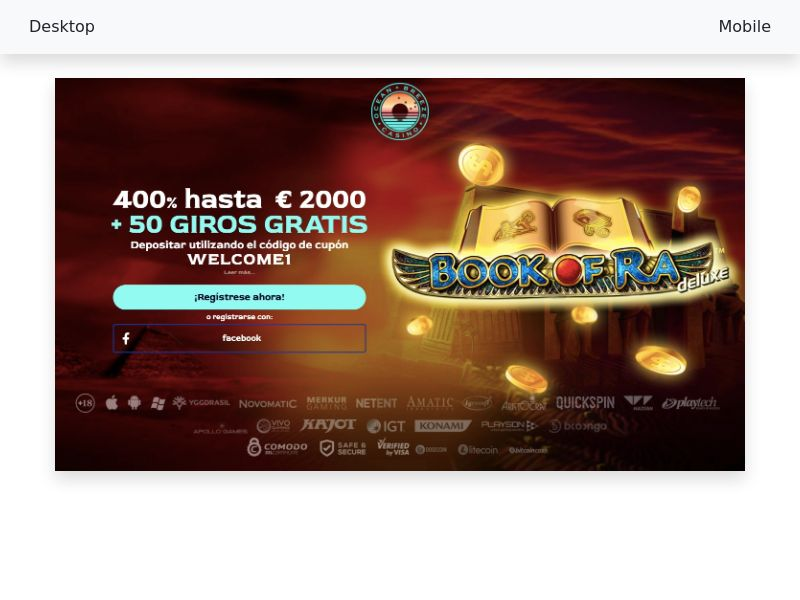 Ocean Breeze Casino - CPA [IT, ES]