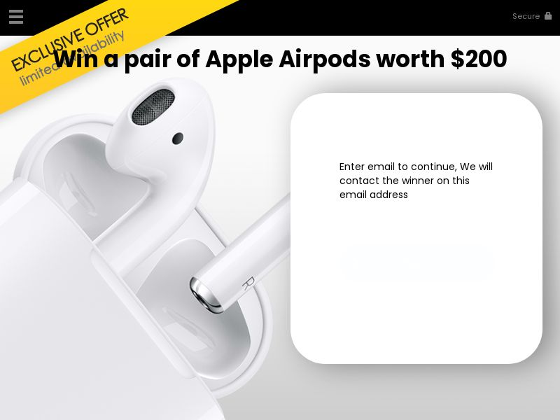 Win a pair of Apple airpods - US