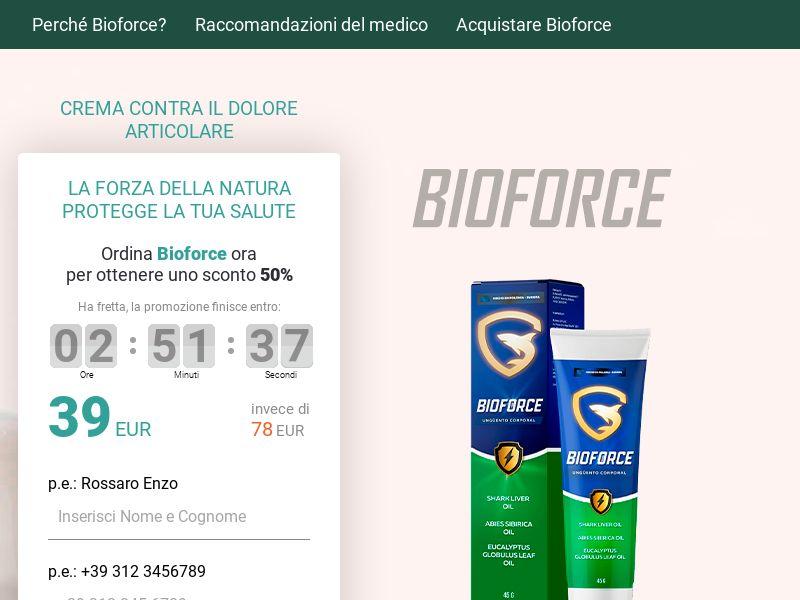Bioforce - IT (IT), [COD]