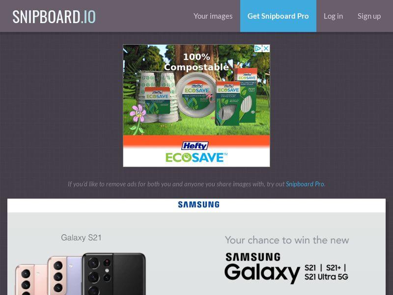 NectarContests - Samsung Galaxy S21 AU - SOI
