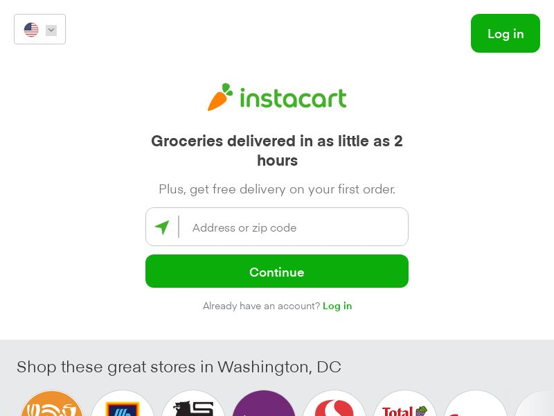 Instacart - Grocery Delivery [US] (Blog,Display,Newsletter) - CPA {No TM Bidding}