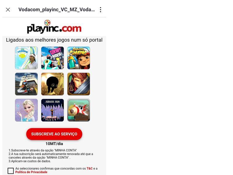 PlayInc Vodacom