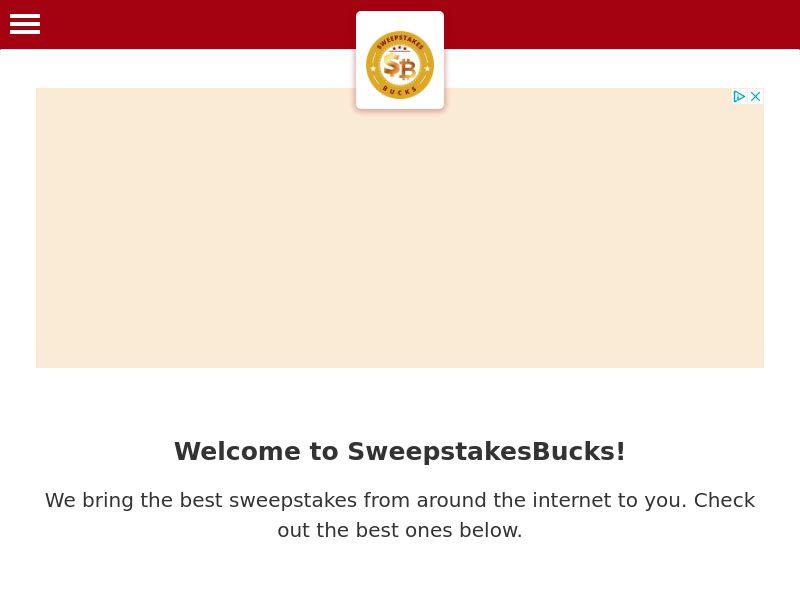 Sweepstakes Bucks   US
