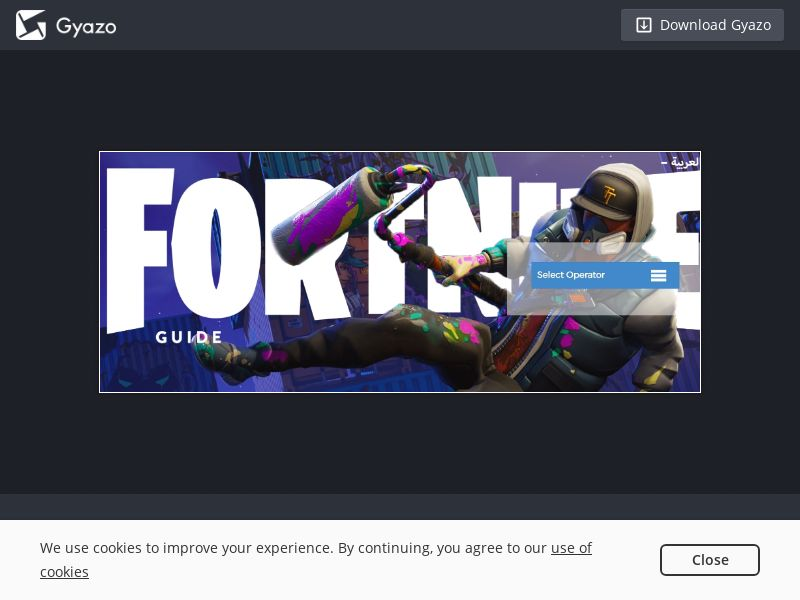 Bitbop Fortnite Guide UAE   PIN Submit - Incent