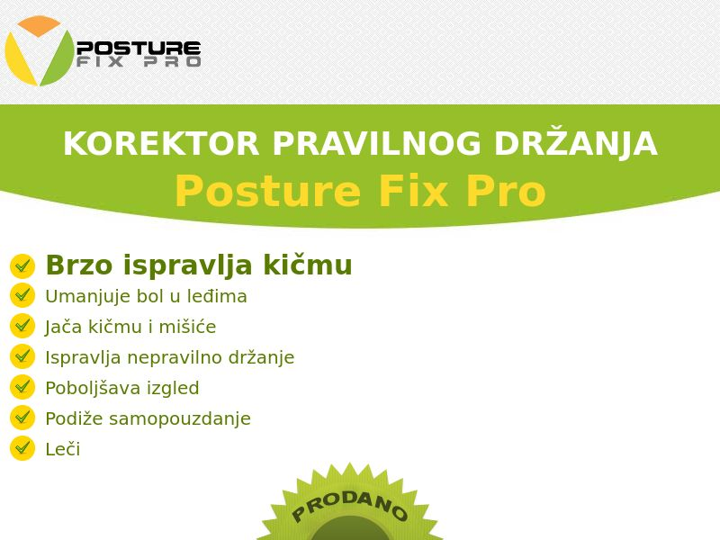 Posture Fix Pro - COD - [BA]