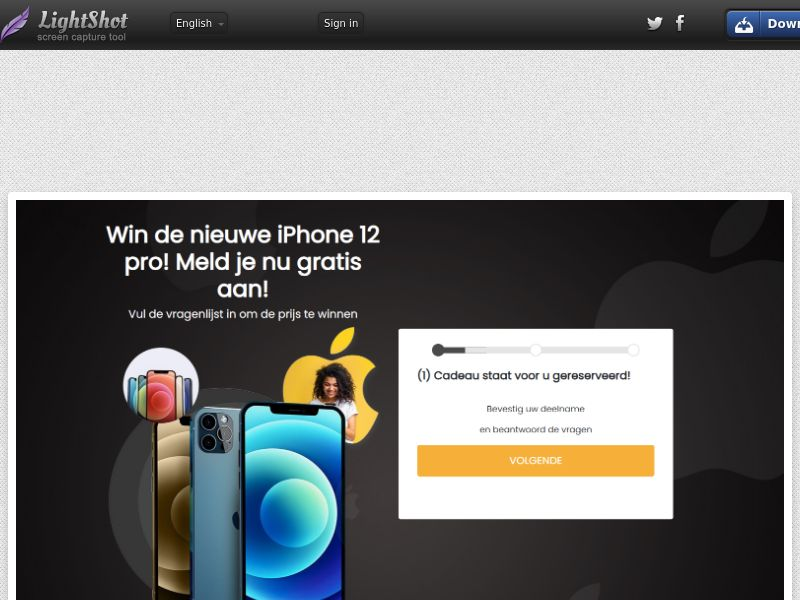 Superprijswinnaars - Win an iPhone 12 Pro (NL) (CPL) (Personal Approval)