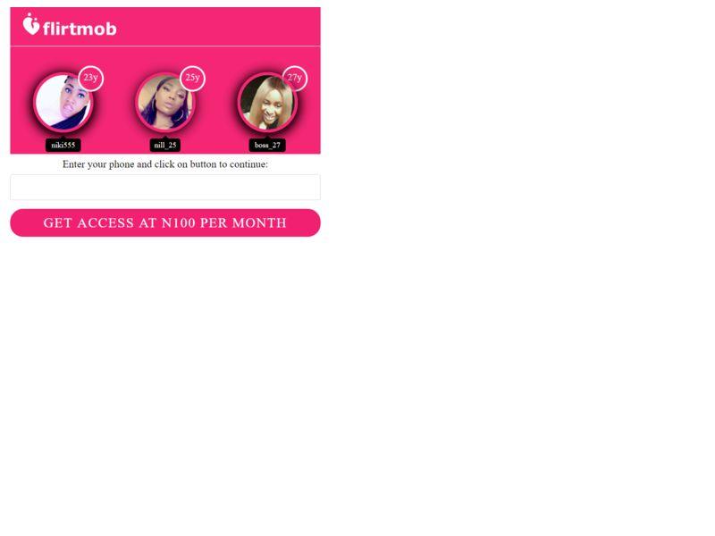Flirtmob MTN
