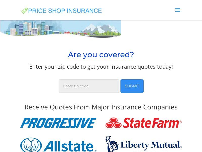 Price Shop Insurance