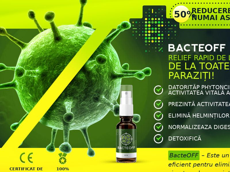 BacteOFF RO - anti-parasite product