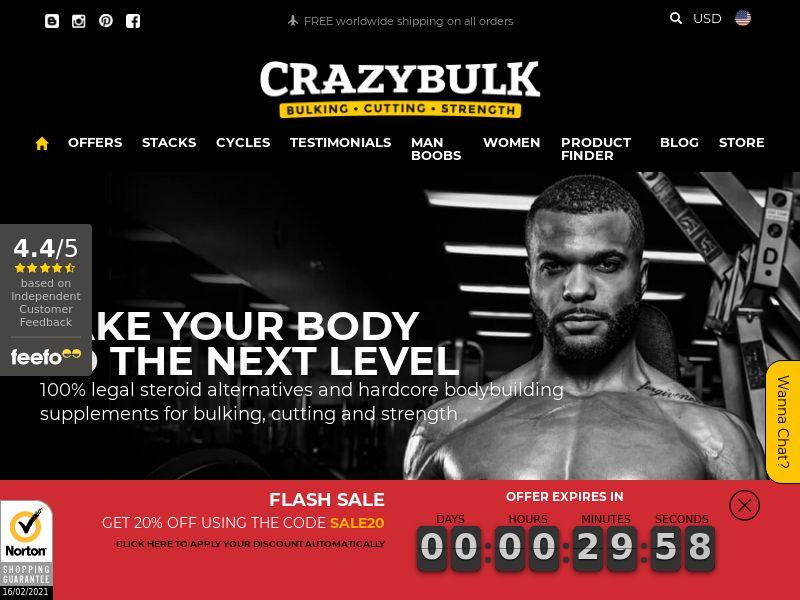 CrazyBulk.com CPS - United States