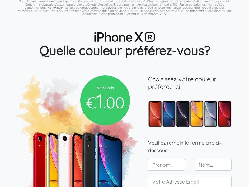 iphone XS - FR