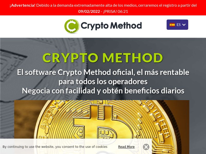 The Crypto Method Spanish 1322