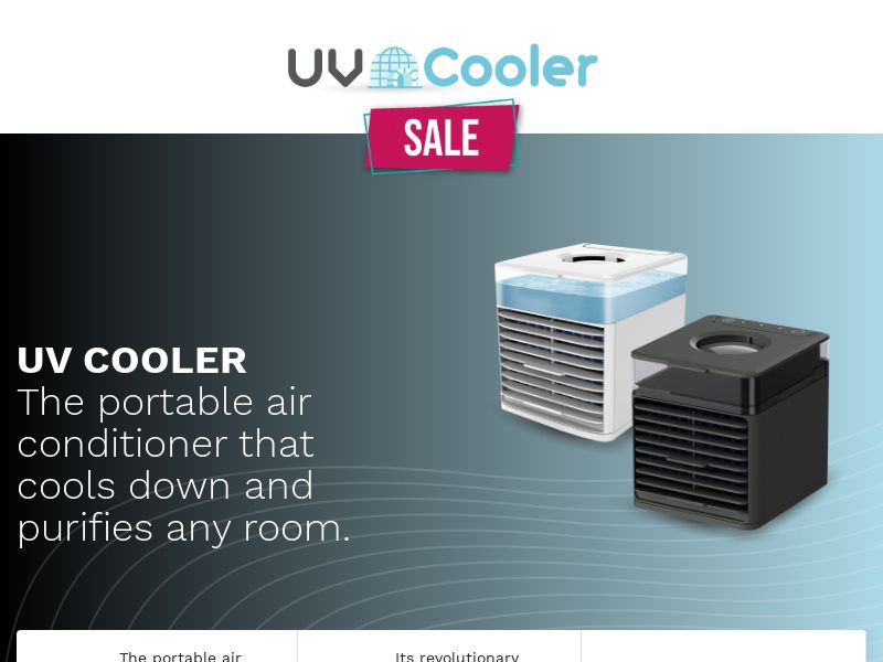 UV Cooler - Portable Air Conditioner (PPS) - eCommerce - WW