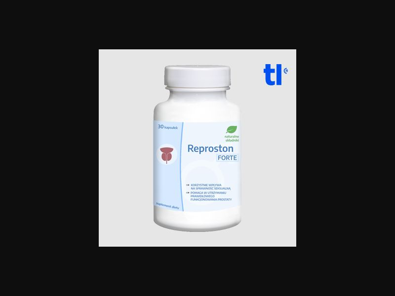 Reproston Forte - health - CPA - COD - Nutra