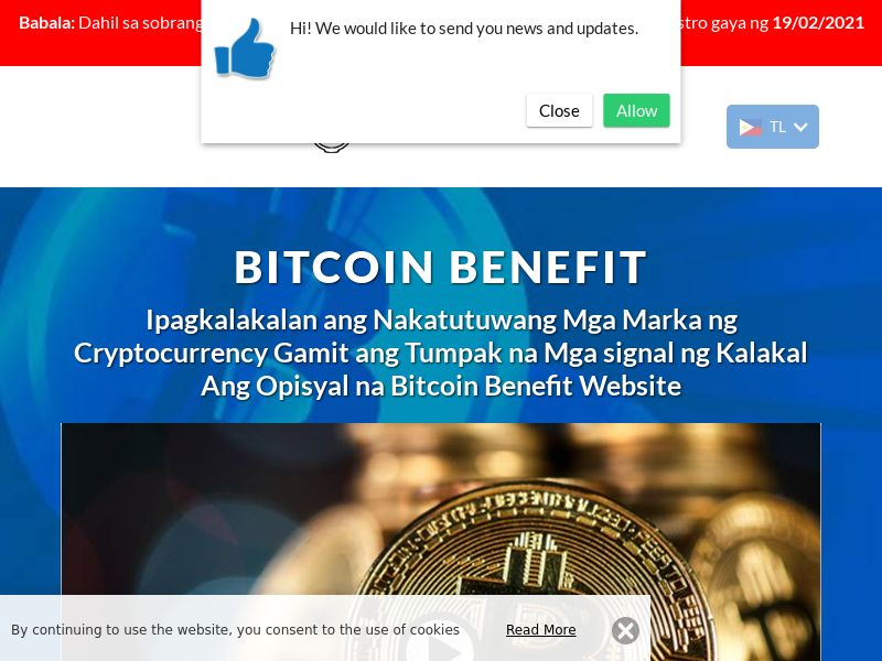 Bitcoin Benefit Filipino 2859